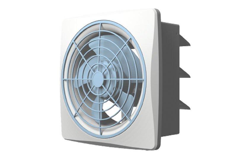 Quạt thông gió âm tường Whifa VDA-25WK (10 inch)